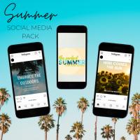 Summer Social Media Pack