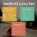 Apartment Living Tips Graphic Bundle